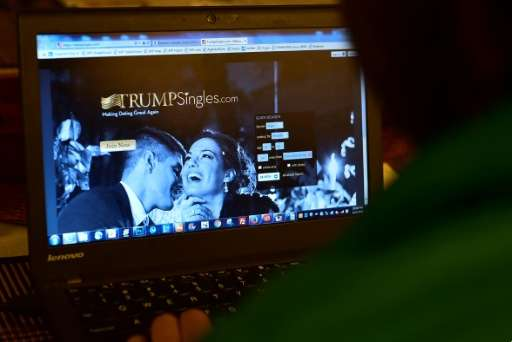 TrumpSingles.com is a dating site inspired by president-elect Donald Trump that seems to be attracting lots of young Republicans