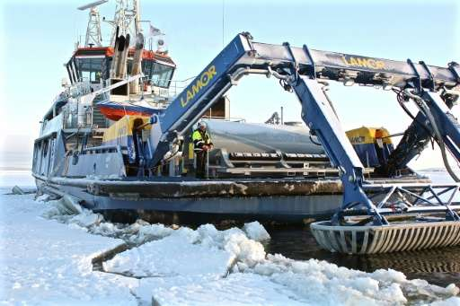 Unprecedented oil spill clean-up tests in icy Finnish conditions reveal just how hazardous and challenging an accident in the Ar