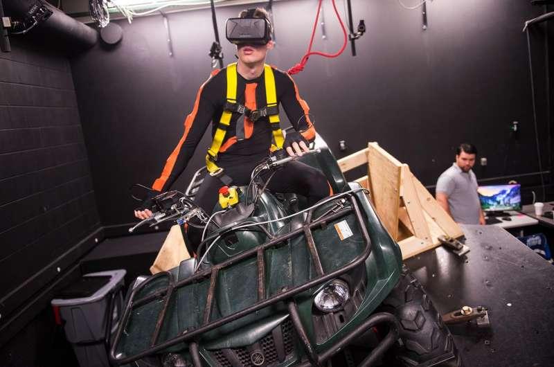U of Iowa unveils new ATV virtual reality simulator