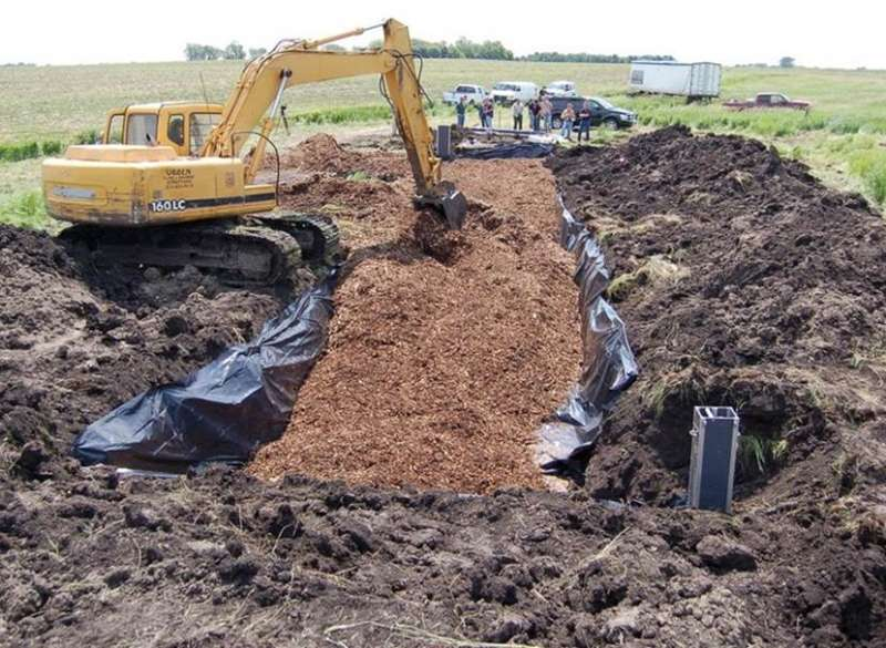 Upstream trenches, downstream nitrogen
