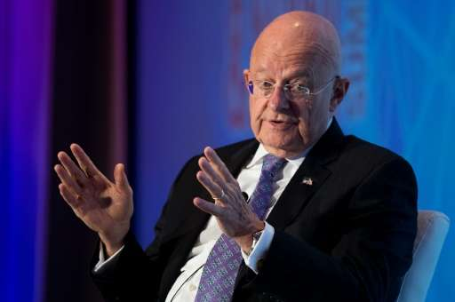 """US Director of National Intelligence James Clapper, seen in September 2016, said he believed a """"non-state actor"""" was b"""