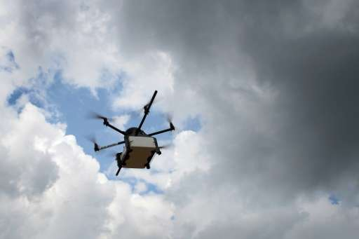 US drone delivery service Flirtey announced that it has started delivering convenience store items to customers' homes on Decemb