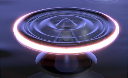Using laser light to cool a quantum liquid