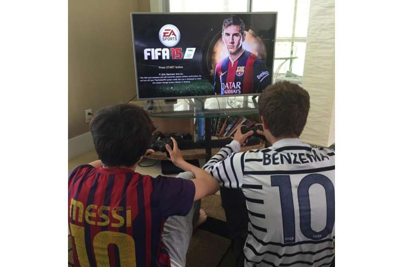 Video game feeds soccer's growth in the U.S.