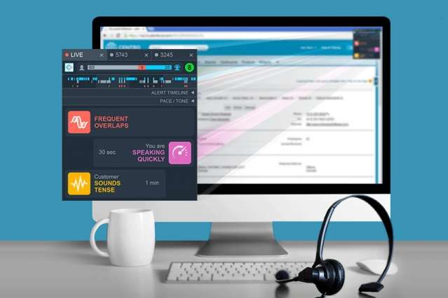 Voice analytics software helps customer service reps build better rapport with customers