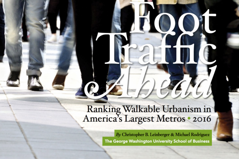 Walkable urban places gain on suburbs