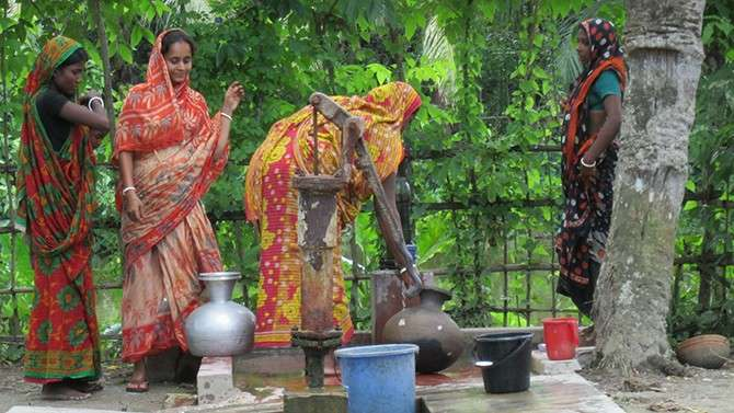 Water crisis in Bangladesh