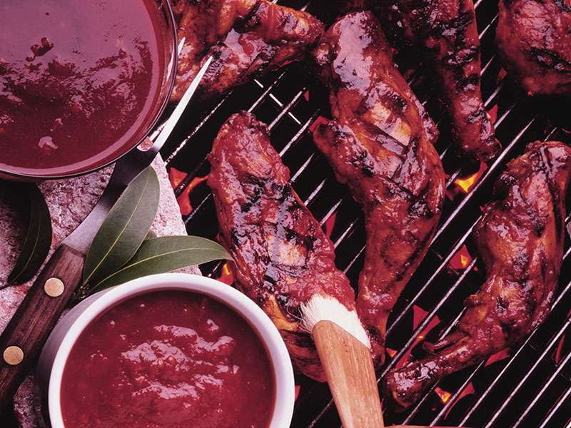When cooking outside, don't let food safety slide