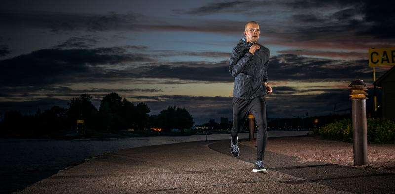 Why running could keep you awake at night