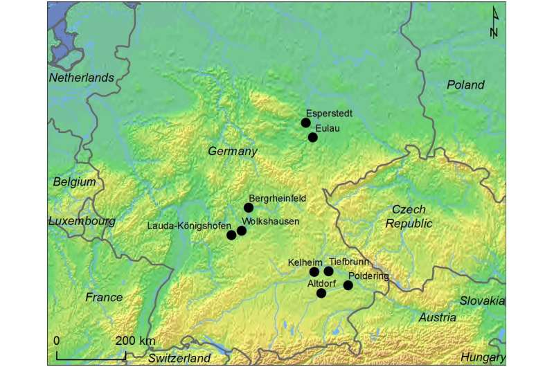 Women in southern Germany Corded Ware culture may have been highly mobile