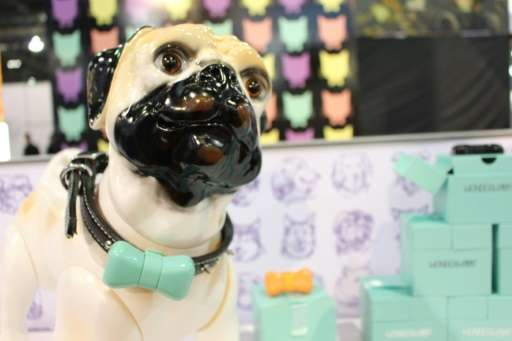 Wonderwoof bow-tie shaped activity trackers for dogs were among the innovations at the Consumer Electronics Show virtually tethe