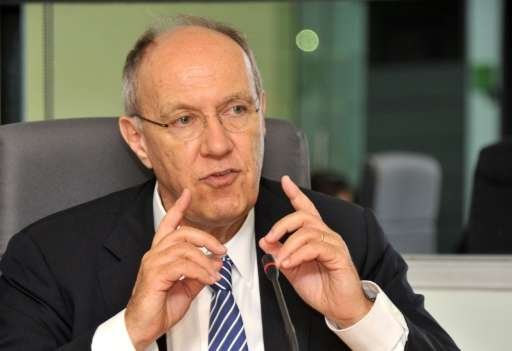 """World Intellectual Property Organization (WIPO) director general Francis Gurry, pictured on March 23, 2012, said, """"the geog"""