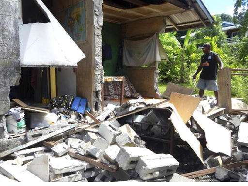 World Vision says hundreds affected by Solomon Islands quake