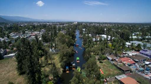 Xochimilco, a UNESCO World Heritage Site in southern Mexico City, is being threatened by urban development