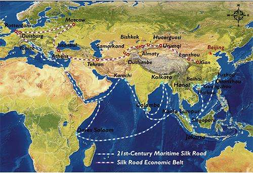 Yesterday's Silk Road could be tomorrow's environmental superhighway