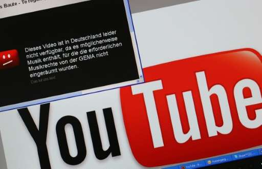 YouTube users in Germany had for years been confronted with a red error graphic when trying to view videos ranging from the late