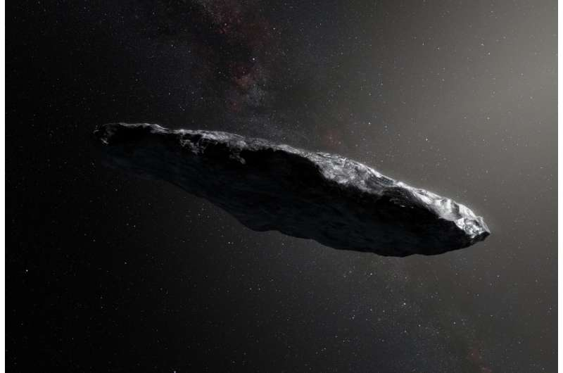 Alien object 'Oumuama was a natural body visiting from another solar system