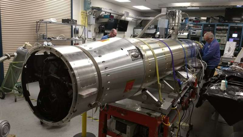 A light in the dark: NASA sounding rocket probes the dark regions of space