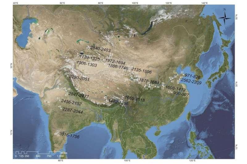 Ancient barley took high road to China