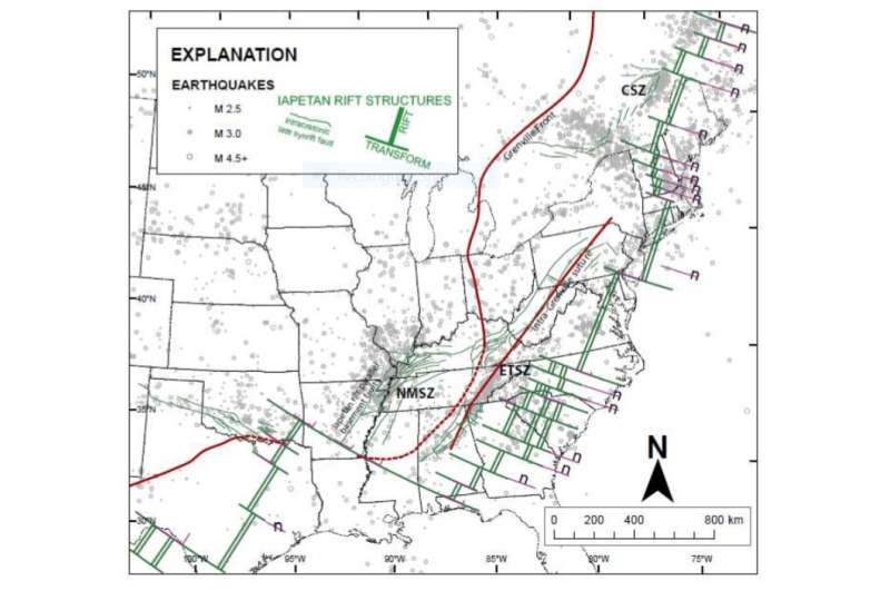 Ancient weakening of Earth's crust explains unusual intraplate earthquakes
