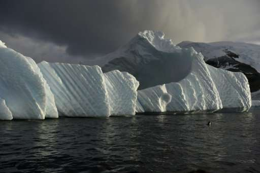 Antarctic sea ice has started to shrink