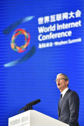 Apple, Google at Chinese internet fest shows lure of market