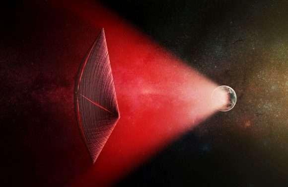 Are aliens communicating with neutrino beams?