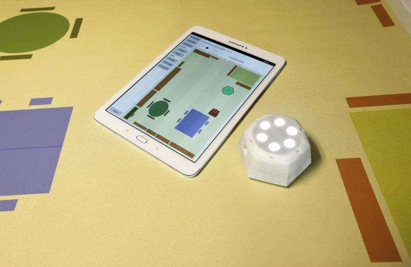 A robot to help visually impaired schoolchildren find their way