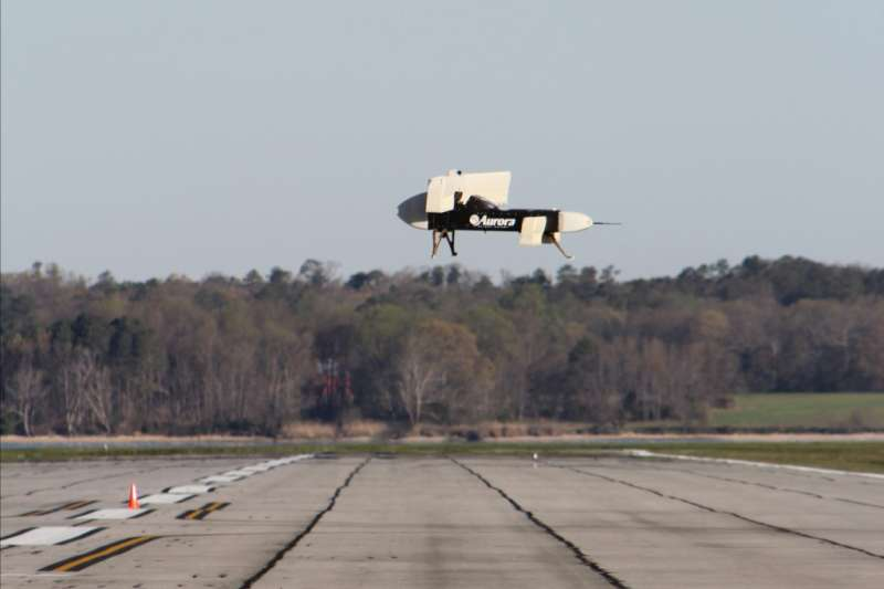 Aurora LightningStrike vertical take-off and landing X-plane prototype runs another test flight