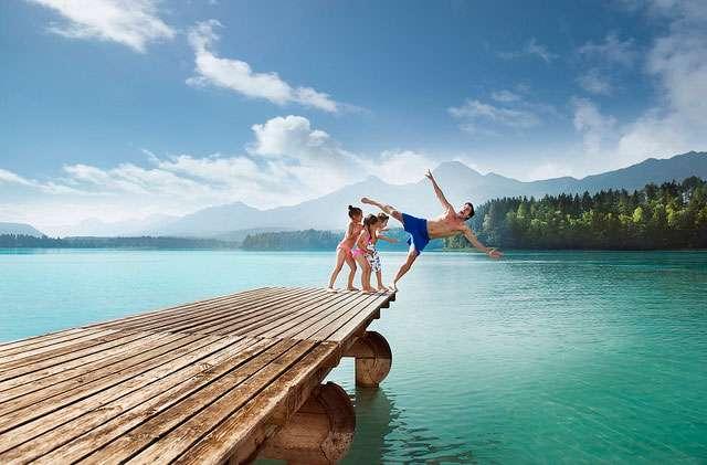 Children should be encouraged to enjoy 'wild' swimming