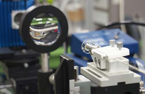 Compact fibre optic apparatus shines light on breath analysis in real-time