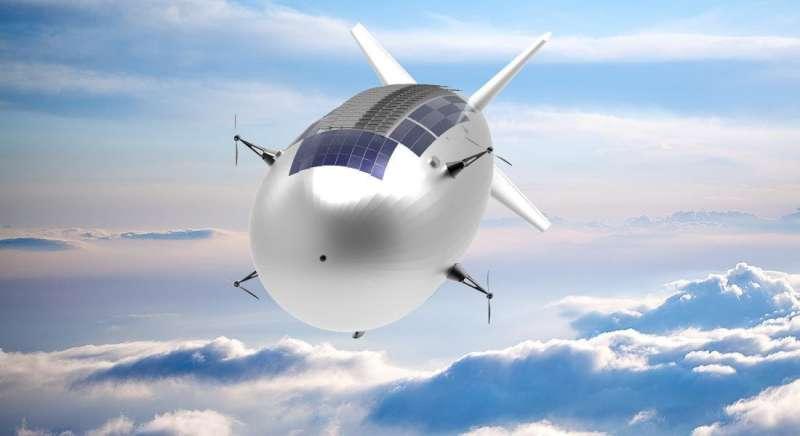 Crossing drones with satellites—ESA eyes high-altitude aerial platforms