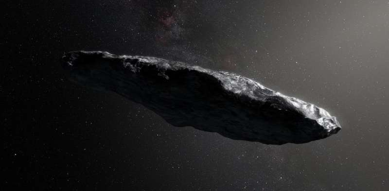 Discovery of cigar-shaped asteroid from outer space could help unveil secrets of extrasolar worlds