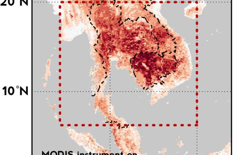 El Niño and global warming combine to cause record-breaking heat in Southeast Asia