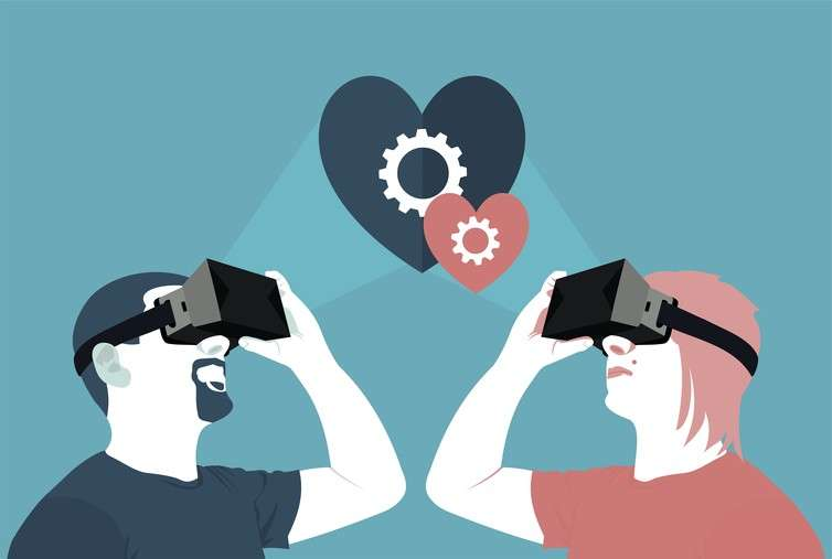 Falling in love in virtual reality could be a deeper experience than real life