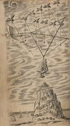 Flying chariots and exotic birds—how 17th century dreamers planned to reach the moon