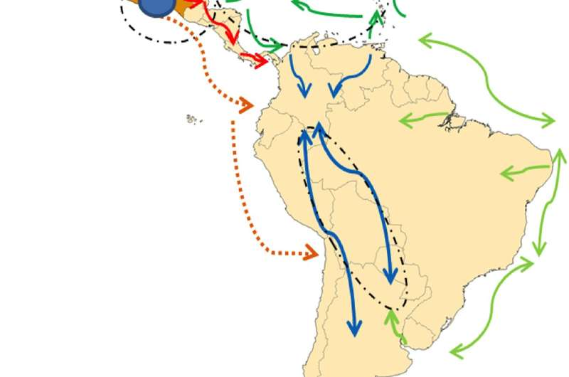 Geography and culture may shape Latin American and Caribbean maize
