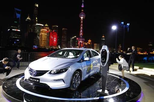 GM announces China version of hybrid Volt