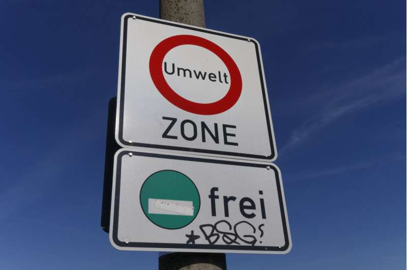 Healthier air due to the low emission zone