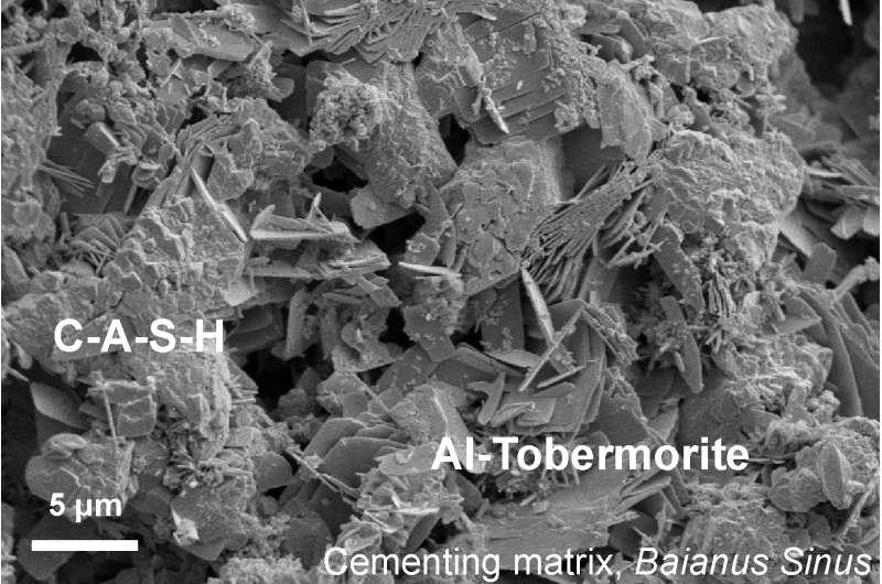 How seawater strengthens ancient Roman concrete
