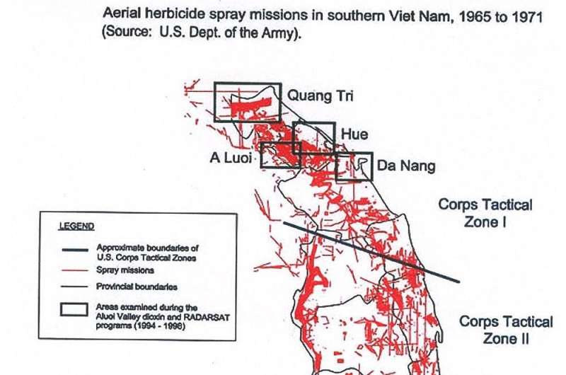 How U.S. chemical warfare in Vietnam unleashed an enduring disaster