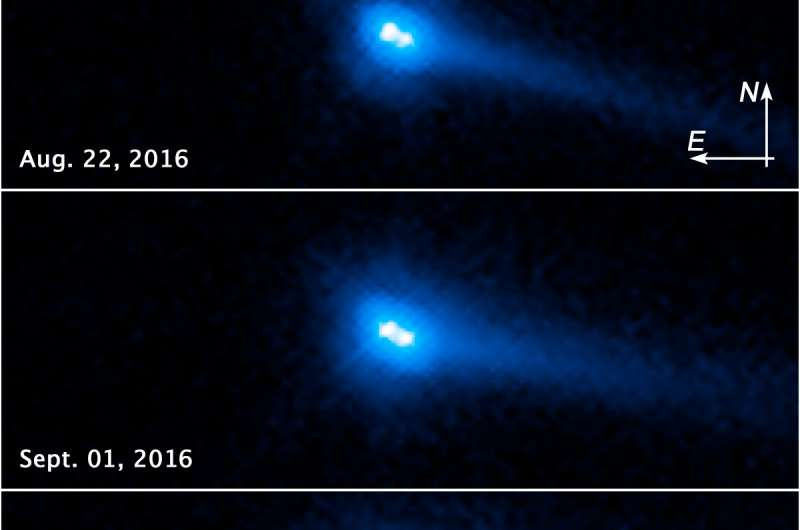 Hubble discovers a unique type of object in the Solar System