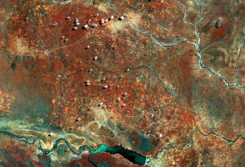 Image: Copernicus Sentinel captures Botswana