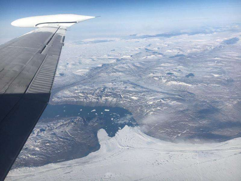 Image: NASA's IceBridge surveys glaciers in Northeast Greenland