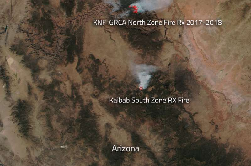 Image: Prescribed fires set to forestall wildfires in Arizona
