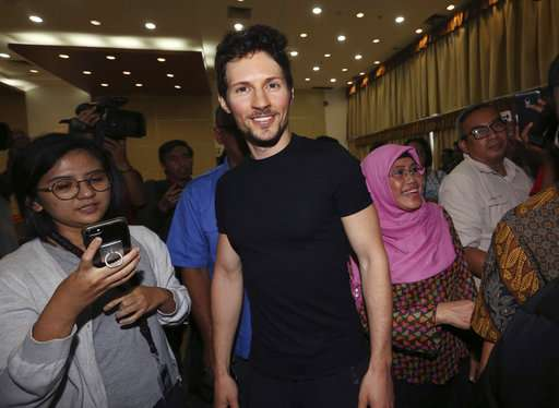 Indonesia lifts threat to ban encrypted app Telegram