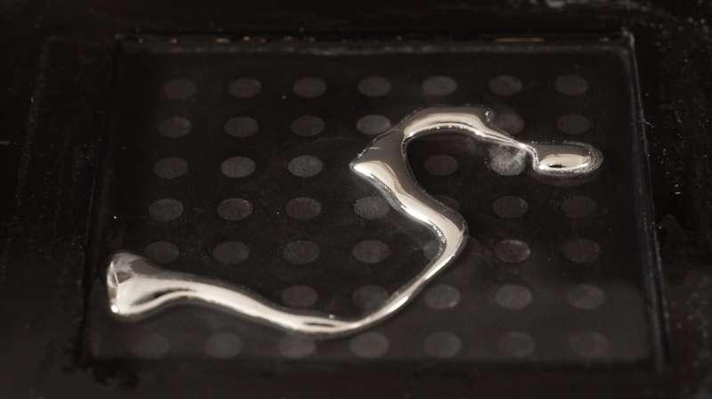 Liquid metal brings soft robotics a step closer
