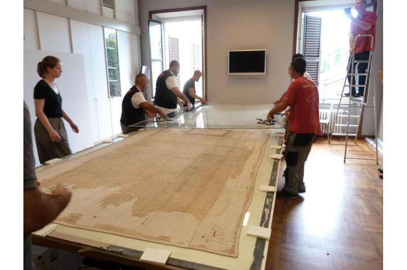 Long-awaited rescue for valuable silk tunic