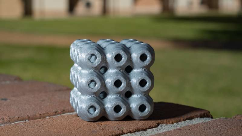 Math gets real in strong, lightweight structures