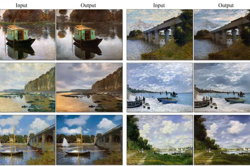 Monet's worlds translated into realistic photos in Berkeley effort